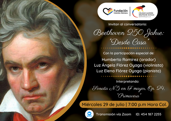 Beethoven 250 Jahre: Desde Casa