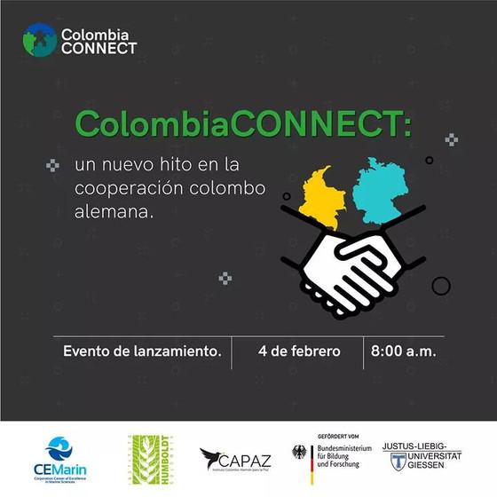 Nueva red de cooperación institucional colombo-alemana Colombia CONNECT