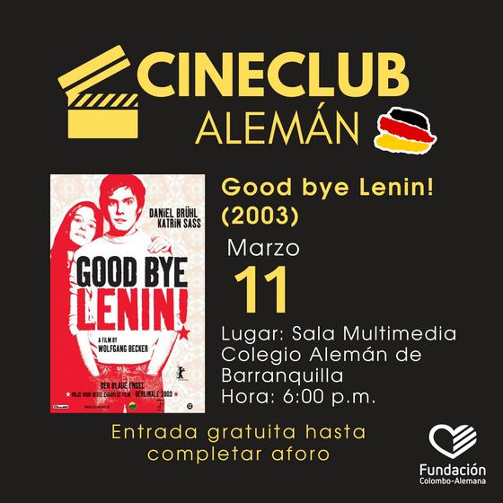 Cineclub alemán: Primer Ciclo 2020