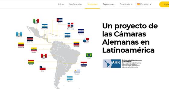 Expo virtual Alemania: La feria multisectorial más grande de Latinoamérica.