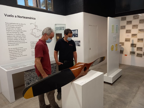 Visita de Johannes Keppler a la exposición SCADTA
