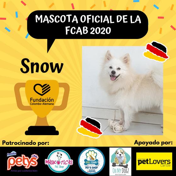 Ganador a la Mascota Oficial de la FCAB 2020