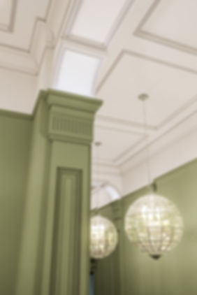 Фрагмент классического интерьера, элементы классики в интерьере, недорогая коммерческая визуализация