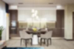 Реалистичный рендер изображений, визуализация проектов, 3d изображение кухни