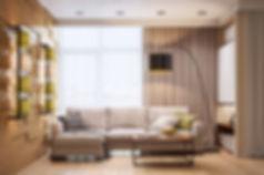 3d интерьер, 3d дизайн, гостиная в современном стиле