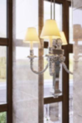 Светильник в интерьере, художественный рендер, красивая 3d картинка