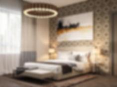 дизайн спальни, светлые тона, идея для спальни
