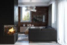 Интерьерная визуализация, визуализация дизайнерского проекта, виз кухни-гостиной