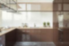 Дизайн современной кухни, визуализация