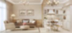 Визуализация стиля прованс, недорогая визуализация интерьера, визуализация стиля прованс в интерьере