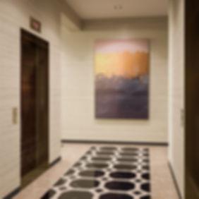 Лифтовый холл ЖК, визуализация интерьеров ЖК, 3d изображения лифтового холла