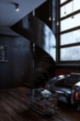 Фрагмент визуализации комнаты ожидания