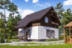 архитектурная 3д визуализация дома