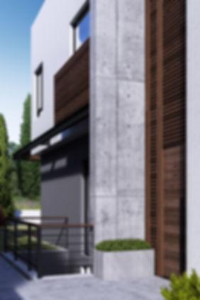 входная зона в дом в современном стиле
