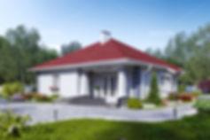 белый каменный дом