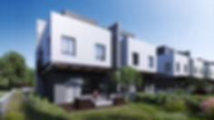 локаничный задний двор в современном стиле