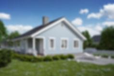 Жилой дом 3d виз недорого