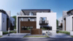 совеменный жилой дом
