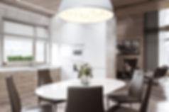 визуализация кухни, дизайн интерьера