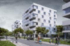 Визуализация жилого комплекса, реалистичный экстерьер, визуализация экстерьеров