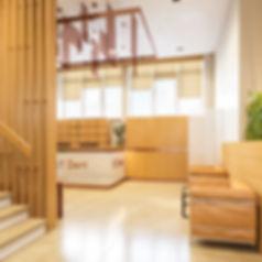 3d изображение вестибюля, визуализация стоматологии, коммерческий интерьер