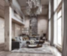 камин в дизайне интерьера