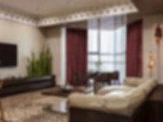 Дизайн комнаты с эркером, решение комнаты с эркером