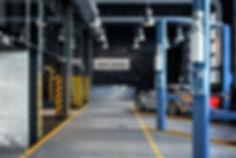 Интерьер станции технического обслуживания