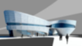 здание бионика модель