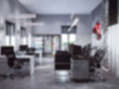 3d изображение офиса