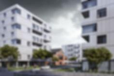 Визуализация комплексной застройки, недорогая визуализация домов, визуализация экстерьеров дешево
