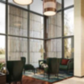 Рендеры вестибюля, интерьерная визуализация вестибюля, коммерческий проект интерьера