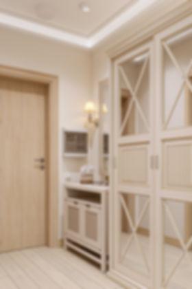 Коридор в стиле прованс, уютный коридор, интерьер коридора