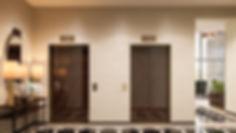 Визуализация общественного холла, интерьер лифтового холла ЖК, интерьеры ЖК