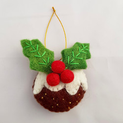 Christmas pud hanging   £4.00