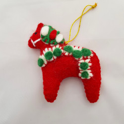 'Dala' horse tree hanging   £5.00