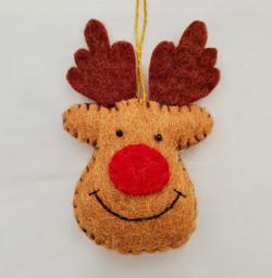 Rudolf tree hanging   £4.00