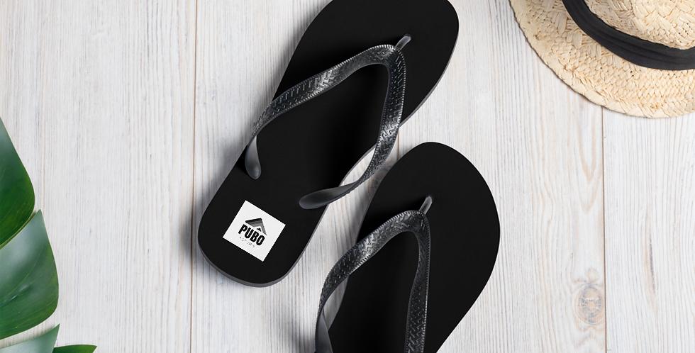 Pubo Flip-Flops (BLACK)