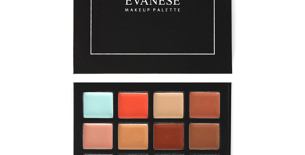 Evanese Professional Beauty Makeup 16 Color Cream Concealer Palette CS16-1