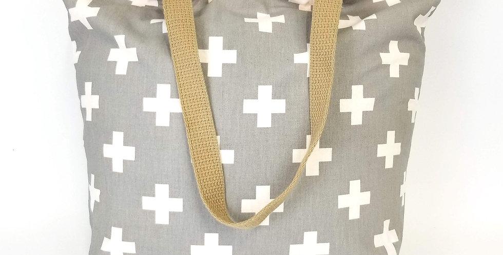 Swiss Cross Market Bag