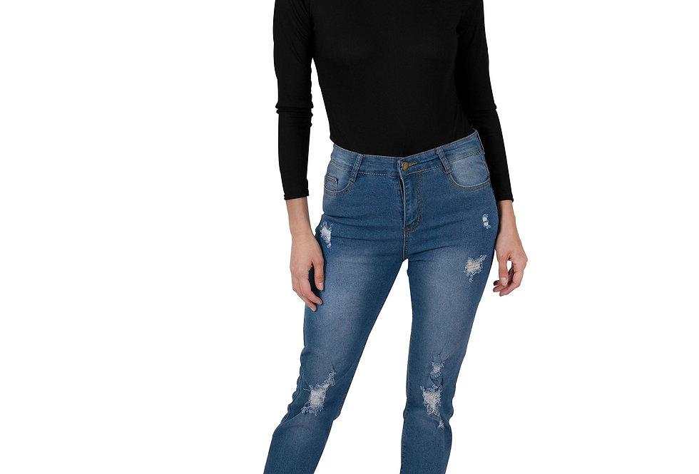 Via Rodeo High Waisted Skinny Jeans