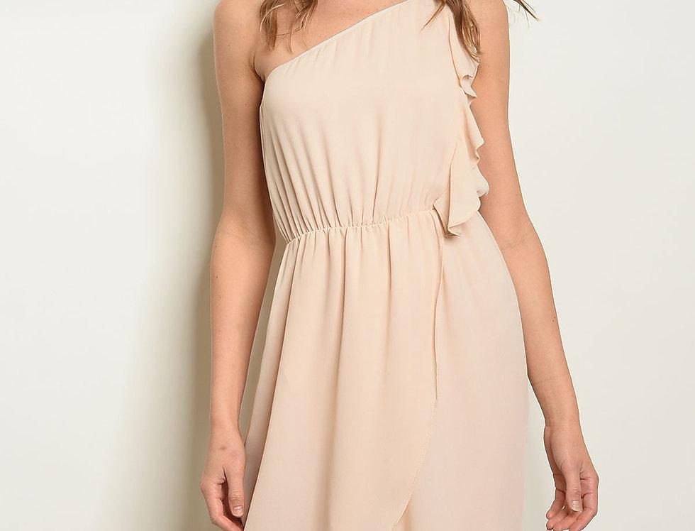 Cream Dress