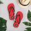 Thumbnail: Pubo Flip-Flops (RED)