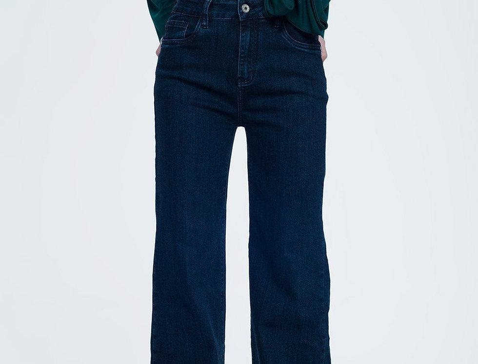Straight Legged Jeans