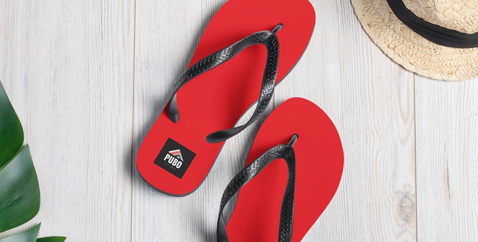 Pubo Flip-Flops (RED)