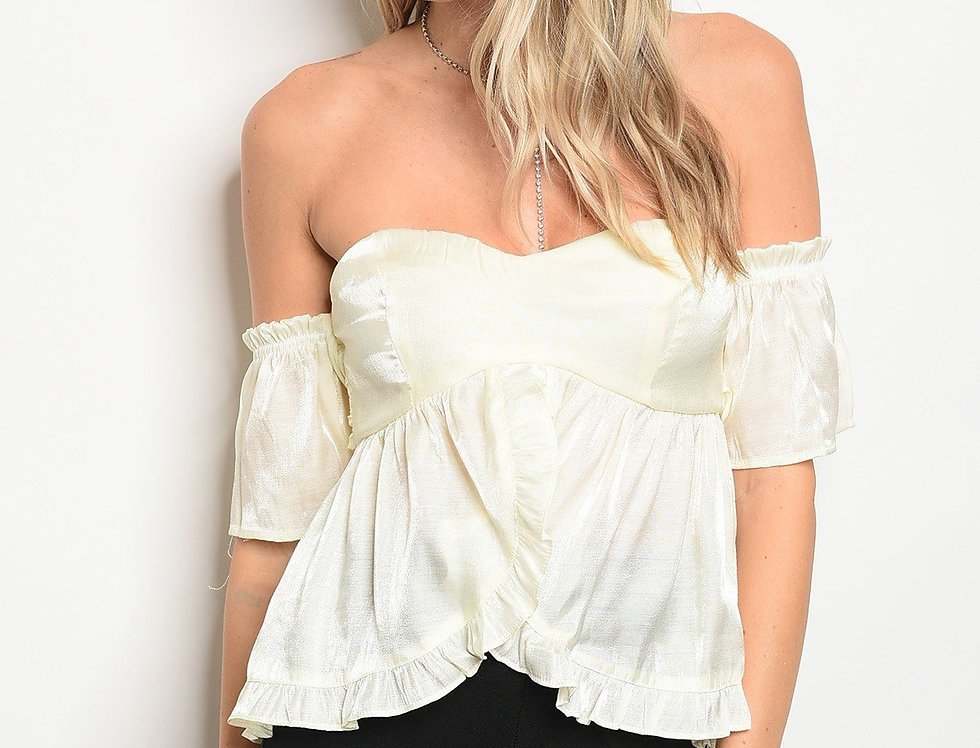 Womens Ruffle Top