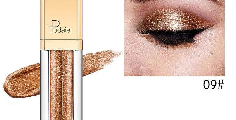 Pudaier Glitter & Glow Liquid Eyeshadow - Color # 09