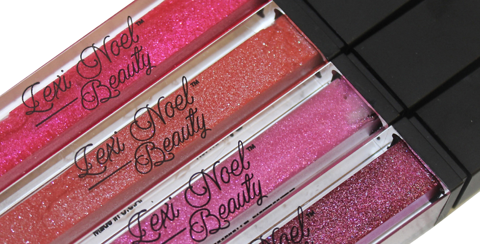 Lexi Noel Beauty Lip Color Gloss in 4 Colors