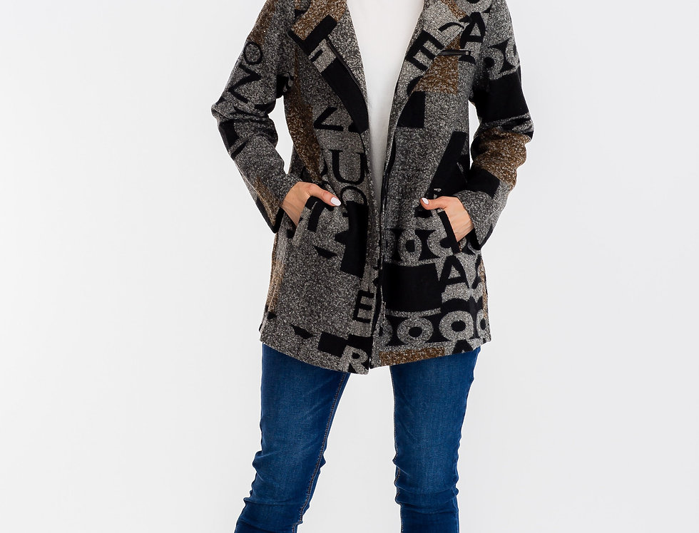 83581 Letterman Long Jacket