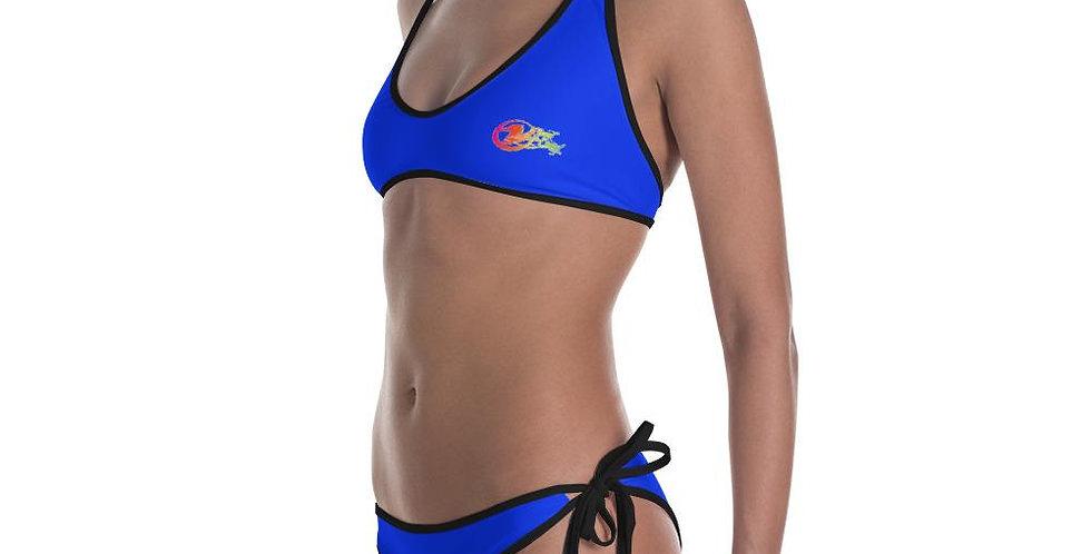 Find Your Coast Reversible Swimwear Florida Life Bikini